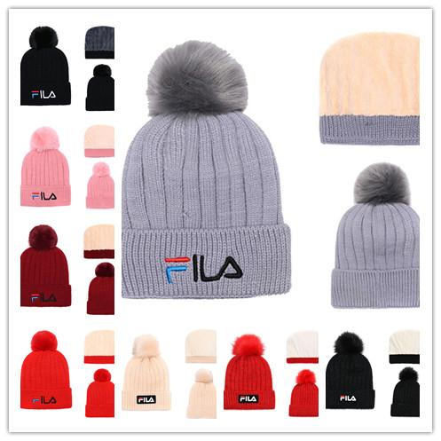 581224ad Wholesale new fashion winter Beanie 2019 Knitted Hats All 32 Teams FILA  football beanies sports team