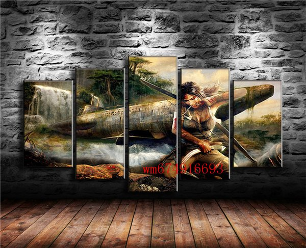 2019 Tomb Raider Group , Home Decor HD Printed Modern Art Painting On  Canvas Unframed/Framed From Wm674916693, $15 38 | DHgate Com