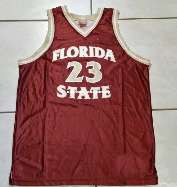 Cheap custom Vintage Florida State Seminoles NCAA Basketball Jersey #23 Stitched Customize any number name MEN WOMEN YOUTH XS-5XL