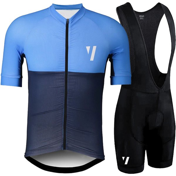 top popular 2019 VOID Summer Pro team Short Sleeve Men's Cycling Jersey Bib Shorts Set Bike Clothes Ropa Ciclismo Bicycle Clothing kits Y022701 2019