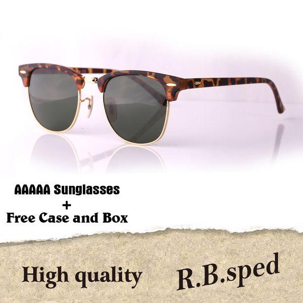 Luxury-Brand Designer Mens Womens Sunglasses plank frame Metal hinge Glass Lenses Cat Eye sun glasses uv400 Goggle With Case and box