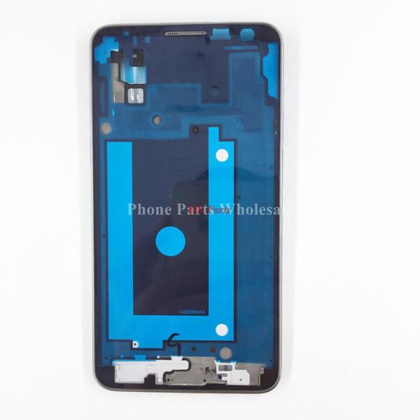 Per Samsung Galaxy Note 3 Neo / mini N750 N7502 N7505 LCD frontale struttura dell'incastronatura dell'alloggiamento di alta qualità dell'incastronatura anteriore di riparazione