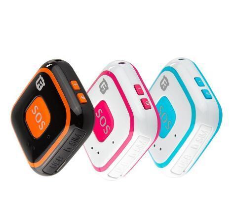 Enfants GPS Tracker Enfant Mini GPS Locator Personnel en temps réel de suivi RF-V28 WIFI LBS AGPS suivi des appels à deux voies Alarme d'automne