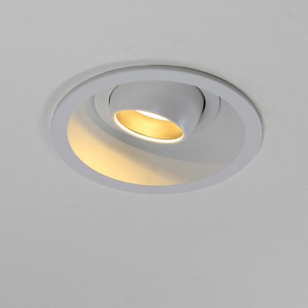 Blanco Ajustable Downlight Foco LED Empotrable Del Foco LED A14 Compre Encastrable 7W Para Interior AC90 260V Iluminación Ángulo Empotrable 38 9IYEHe2WDb