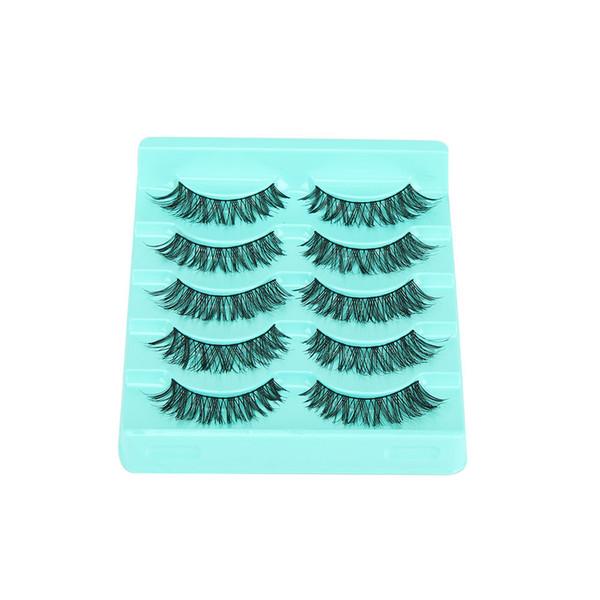 2019 New Fashion Big Sale 5 Pair/lot Crisscross False Eyelashes Lashes Voluminous Hot Eye Lashes Fashion