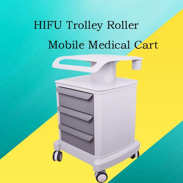 Il nuovo carrello medico mobile del rullo professionale del carrello 2019 con disegna il supporto del supporto montato per la macchina della stazione termale della stazione termale di bellezza HIFU