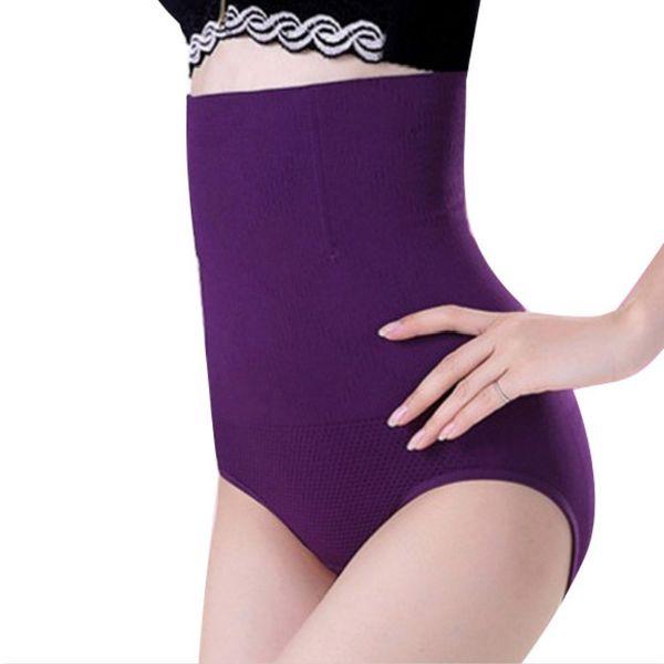 Las mujeres de cintura alta que forman shapers bragas transpirable talladora del cuerpo que adelgaza la panza entrenador de ropa interior calzoncillos bragas venta caliente