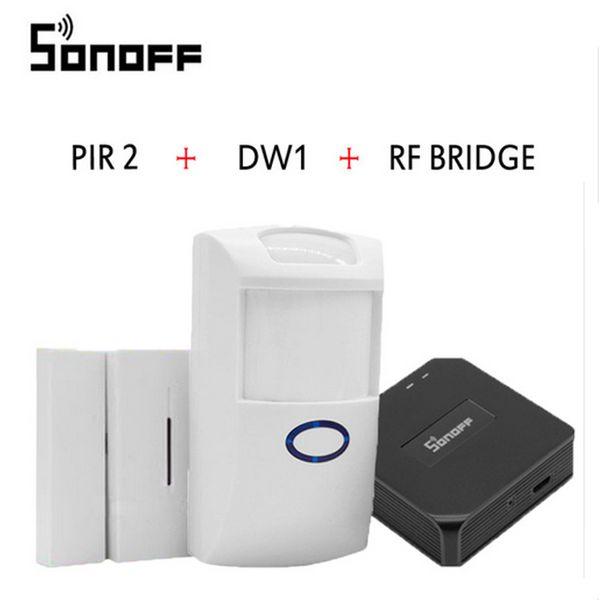Sonoff PIR PIR2 Wireless Dual Infrared detector Motion Sensor smart Home Smart Security Alarm System for Alexa Google Home