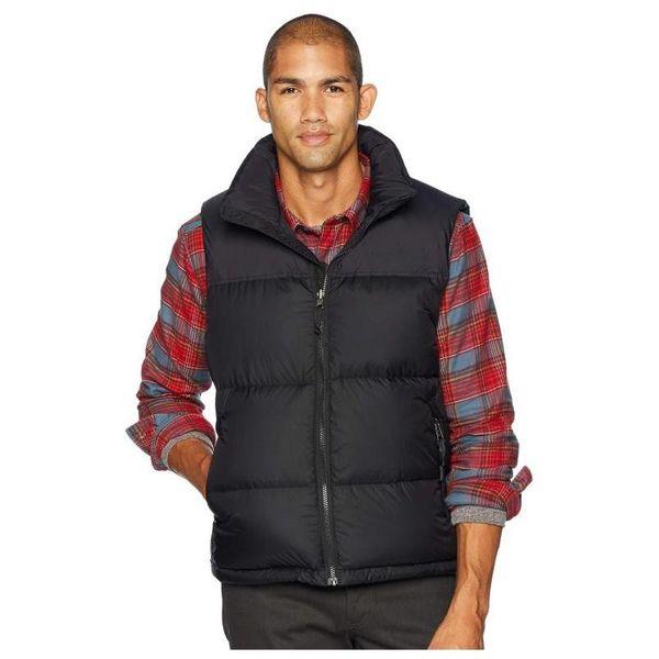 top popular Famous Mens Down Vests Men Women Stylist Winter Jacket Coat Mens High Quality Casual Parka Mens Down 3 Colors Size S-XL 2021