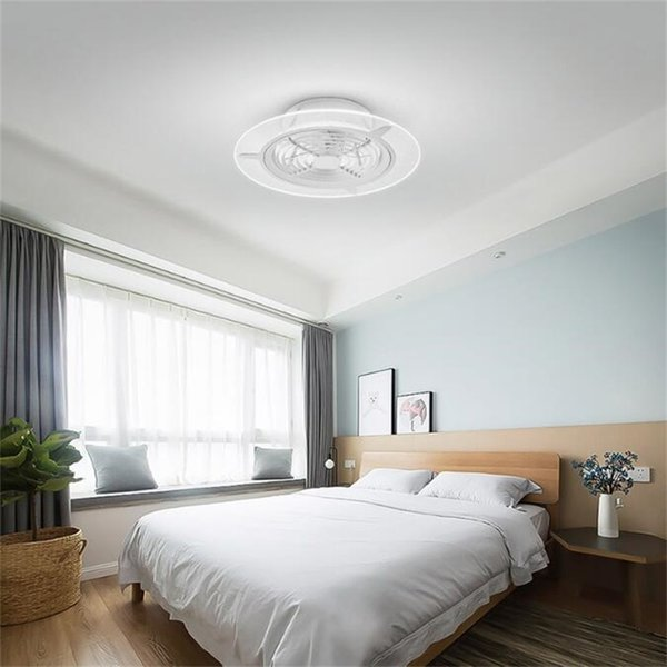 best selling Xiaomi Youpin HuiZuo Intelligent Ceiling Fan Light Lamp Invisible Crescent White FS33 FS34 Indoor Light Fixtures
