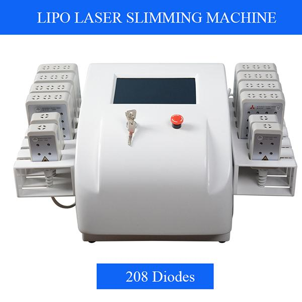 208 Diodes Lipo laser