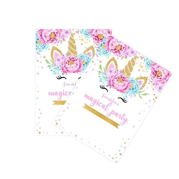 بطاقة دعوة (8PCS / مجموعة)