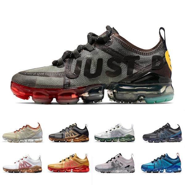 Nike air vapormax 2019 shoes HOT CPFM X VPM Weiß Lime Vast Grau Volt Laufschuhe Damen Herren PRM Oregon Aluminium Blau Hellrot Turnschuhe Sportschuhe 36-45