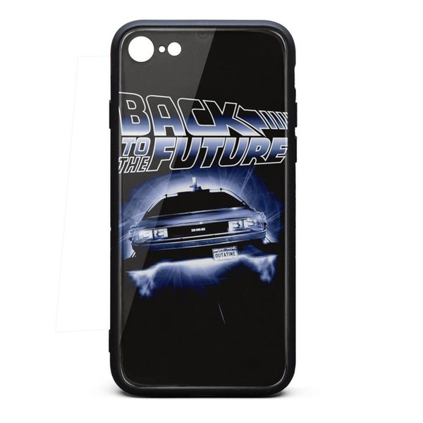 Back to the Future car logo iphone cases 8 best protective case cheap phone cases pretty heavy case hippie vintage shock-absorption phone ca