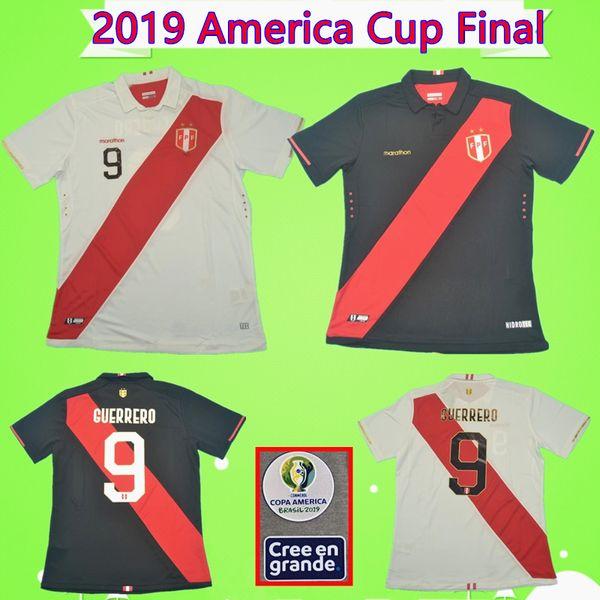 Peru World Cup 2020 Jersey.2019 2019 America Cup Final Peru Soccer Jersey 9 Guerrero 18 Carrillo Camiseta De Futbol 20 Flores Camisa 19 Yotun Football Shirt Gueva Maillot From