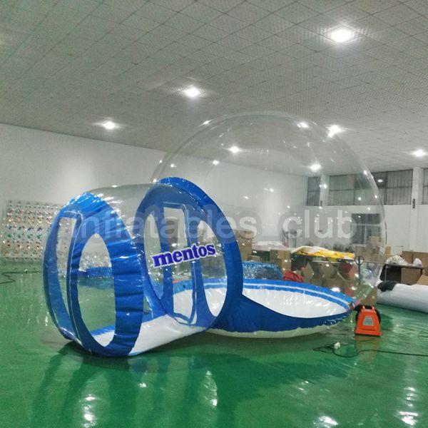 Bord bleu de 3m