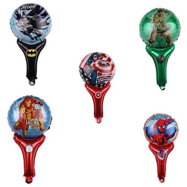 60 * 30 CM Vingadores 4: Balões de Guerra Infinito Balloons inflável Spiderman Homem Hulk Ironman Batman Capitão América Decoração Do Partido Baloons Thanos Thor