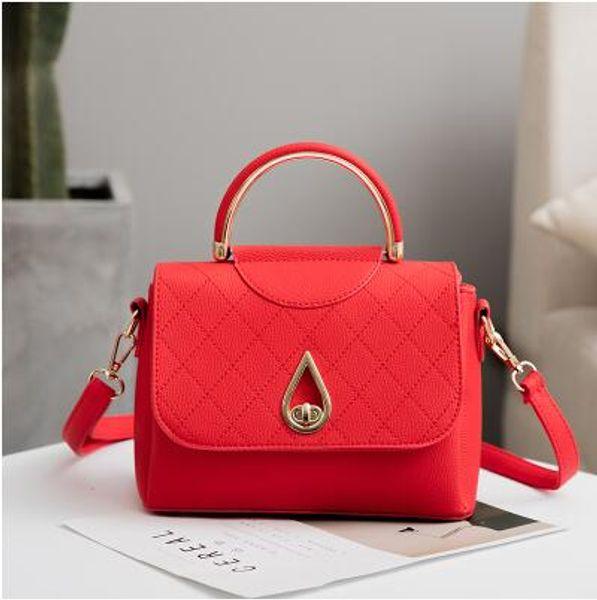 Ladies simple and versatile personality fashion handbag women bag cross body bag on the new small bag 2019 new style Korean fashion B1
