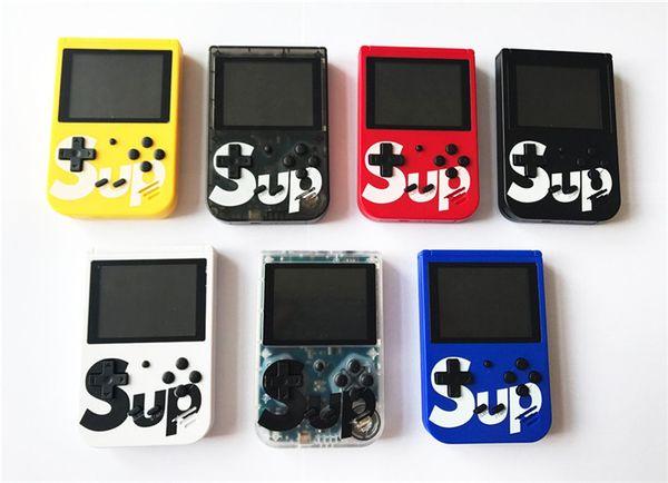 Новый G4 Sup Ретро FC 8 бит Мини Портативные портативные игровые плееры Игровая приставка 3 ЖК-экран Текстура поверхности Поддержка TV-Out