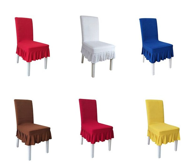 Magnificent Spandex Chair Covers Chair Cover Spandex Stretch Elastic Hotel Wedding Banquet Arm Covers Dining Room Seat Cover Case Fabric Seat Covers For Dining Pabps2019 Chair Design Images Pabps2019Com