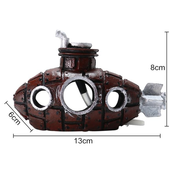 13x6x8cm café roja
