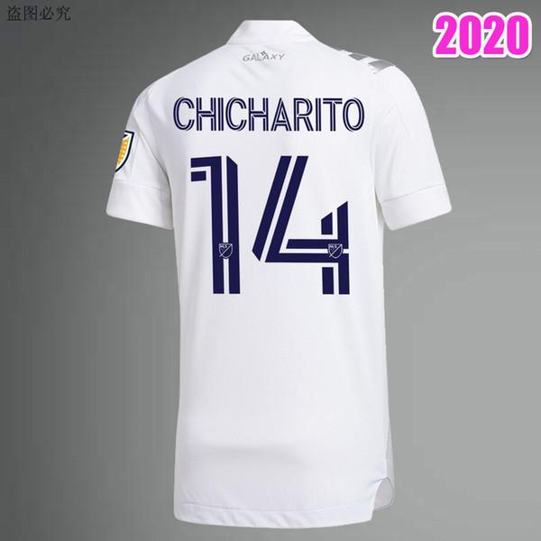 LA Galaxy Inicio 25 blanco 14 # Chicharito