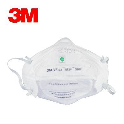 3M Пылезащитная маска Ушной ремешок Складная промышленная пыль маска для лица PM 2.5 Электростатическая фильтрация Fit Face Складная маска