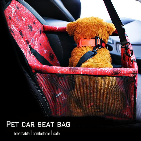 KIMHOME PET Dog Sacs pour petits chiens respirant Tissu Oxford Dog Car Seat Cover Voyage Sac de transport pour animal de compagnie Petit Moyen Chats Chiens