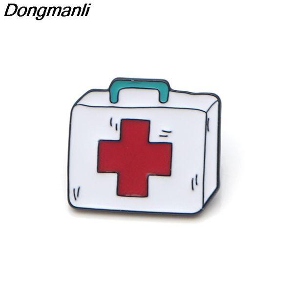 P3567 Medizinische Broschen Collectionkit Metall Emaille Pins und Broschen Revers Pin Badge Schmuck für Arzt Krankenschwester Geschenke