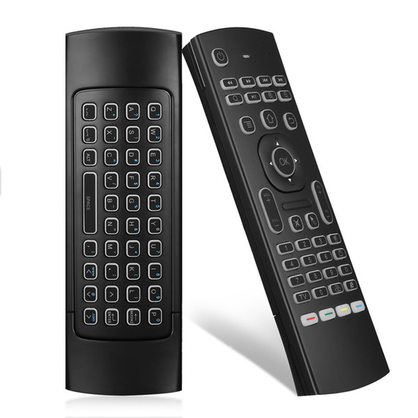 Backlit mx3 fly air mou e 2 4g wirele remote control keyboard for android mart tv box t95z plu x96 mini h96 mini