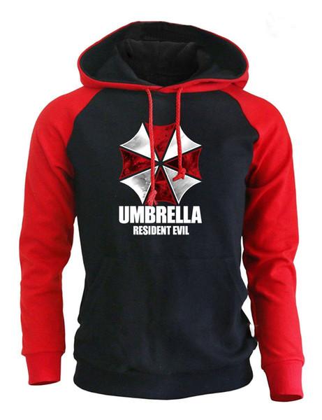 Designer Hoodie Casual Luxury Hoodie for Men Women Loose Style Cotton Blend Thick Mens Hoodies Umbrella Print Long Sleeve Hooded Size S-XXL
