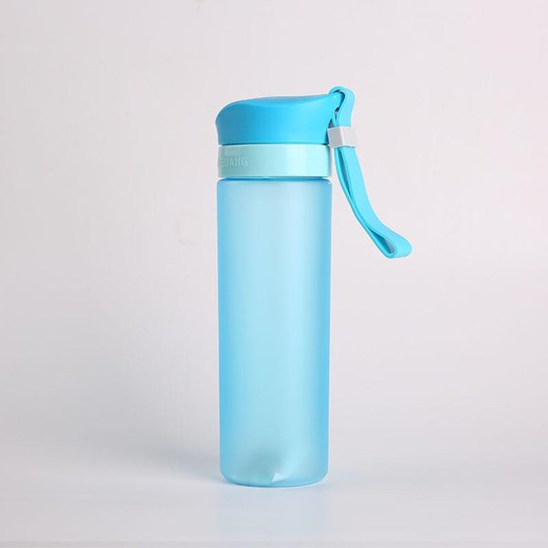 Frosted Series High Quality Plastic Shaker Bottle Infuser Water Bottle My 600ml BPA Free