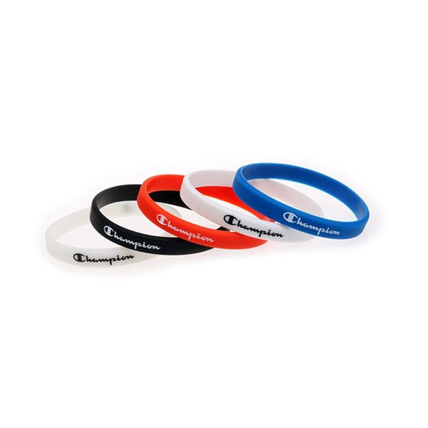 Fashion C Letter Silicone Bracelet Causal Sport Wristband Lovers Rubber Bracelet Birthday Party Valentine's Day Gift TTA881