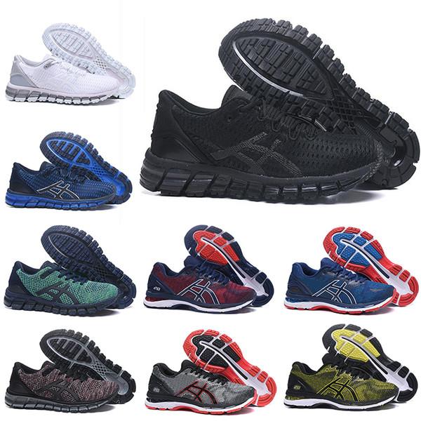 2019 asics de calidad superior Gel-Quantum 360 GEL-Nimbus 20 para hombre Zapatillas SHIFT Estabilidad triple negro blanco Tejidos Buffer Athletic entrenadores zapatillas