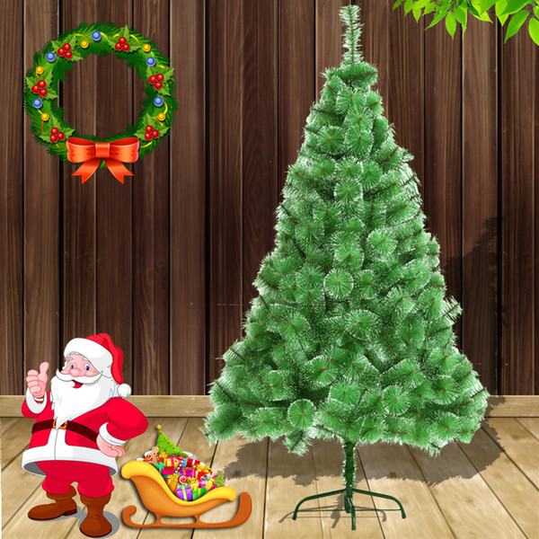 Christmas Snow White Pine Needle Tree 150см Высокое качество Рождественская елка Пятно Белоснежка Imported Материалы Home Decor