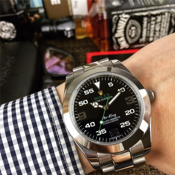 Luxury male men 039 watch 2813 automatic mechanical tainle teel watch fa hion waterproof men watche with original box reloj