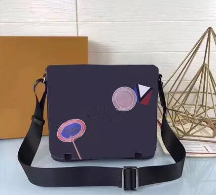 2019 DISTRICT PM di alta qualità nuovo 2 dimensioni famoso marchio classico designer moda uomo borse a tracolla borsa a tracolla scuola borsa a tracolla