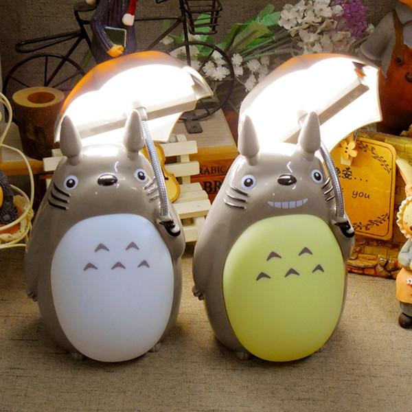 Creative Bande Dessinée De Style Totoro Nuit Lumière LED Chevet Veilleuses Pour Enfants Cadeau D'anniversaire Décor de Chambre NOIR VENDREDI