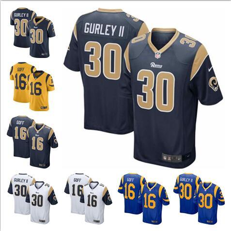 detailing 17569 8260f 2019 Jared Goff Todd Gurley Jersey Rams Camo Salute To Service Aaron Donald  Eric Dickerson Custom American Football Jerseys Authentic Plus Size From ...
