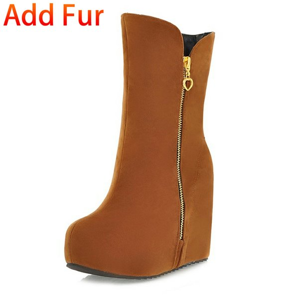 yellow add fur
