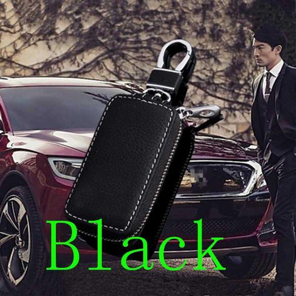 Leather Car Key Case bags for Chevrolet Opel Volkswagen honda civic Kia ford focus audi a4 b8 mercedes benz skoda mazda Key Cover shell