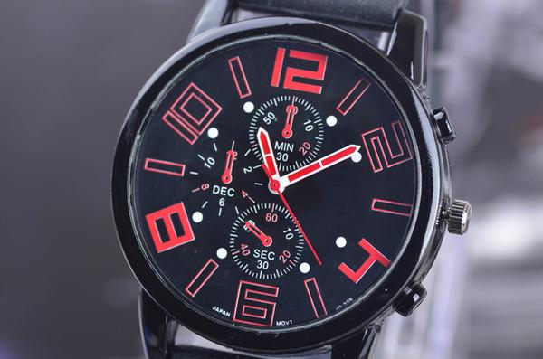 GT Grand Touring F1 Racing Men Watch Sports Cool Army Watch Nuevo diseño para 2014 Ventas calientes