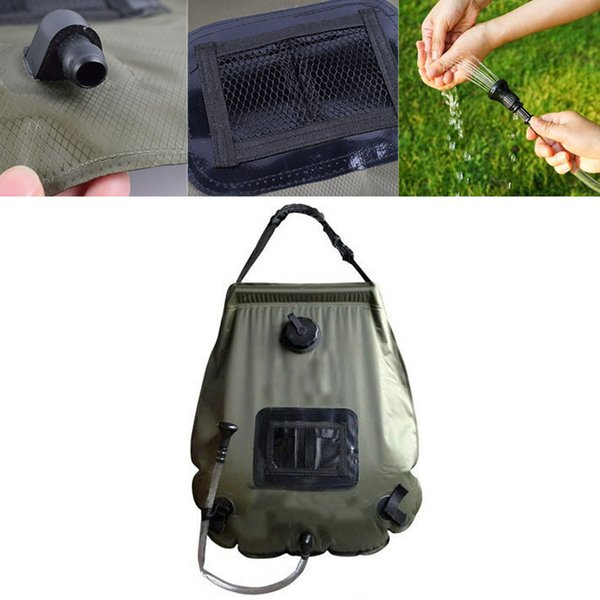 2019 Outdoor Hot Water Bag Swimming Pool Solar Shower Pocket Convenient  Durable Camping Hiking Hunting Shower Bag Pool Accessories From Swiscafe,  ...