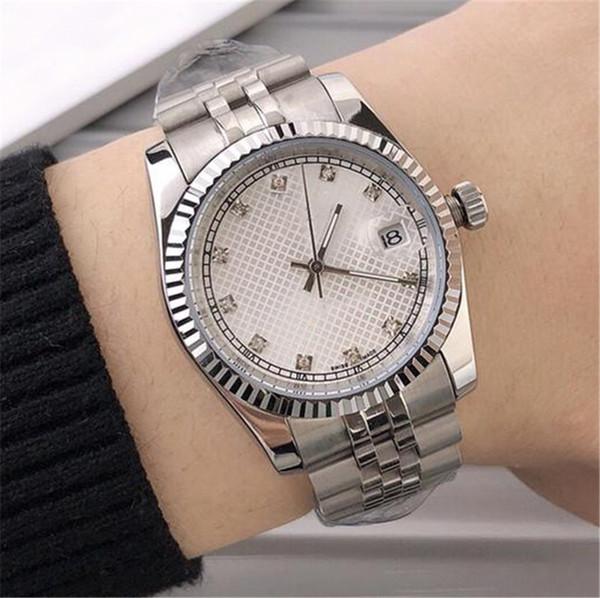 41mm luxury mens designer watches diamond business watch 3 styles automatic mechanical movement self-winding wristwatches 316 steel