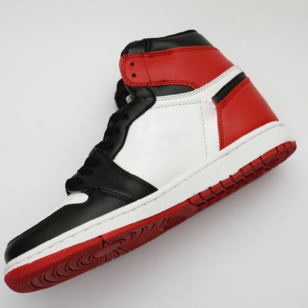 Nouvelle arrivée chaussures de designer 1 OG Chaussures de basketball Hommes Chicago 1S 6 MID Nouvel amour UNC Chaussures de sport FEMME anneaux Sneakers Bred Toe Trainers 22