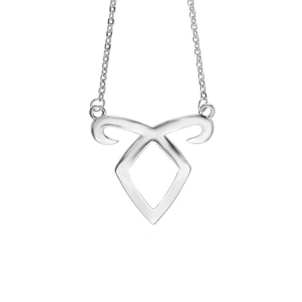 The Mortal Instruments City of Bones Angelic Power Rune Necklace with link Chain for Women Fashion Jewelry 160377