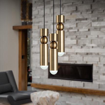 Großhandel Moderne Led Pendelleuchte Für Bar Küche Gold Metall Leuchte  Einzigen Kopf Für Wohnzimmer Dekorative Hängelampe Esszimmer Von Jess678,  ...