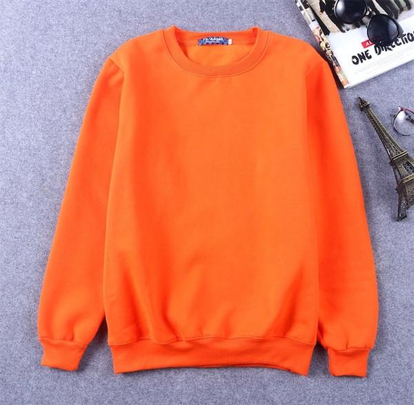 오렌지색 스웨터