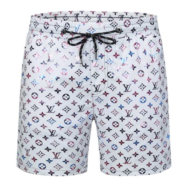 Calças 2020ss Verão Shorts Novo design Board curto de secagem rápida Swimwear Impressão Board Praia Men Mens Swim Shorts