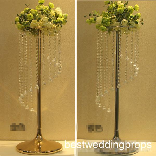 Nouveau style Silver Arch conçu par Occasions cristal acrylique luxe Gazibo Mandap best0852